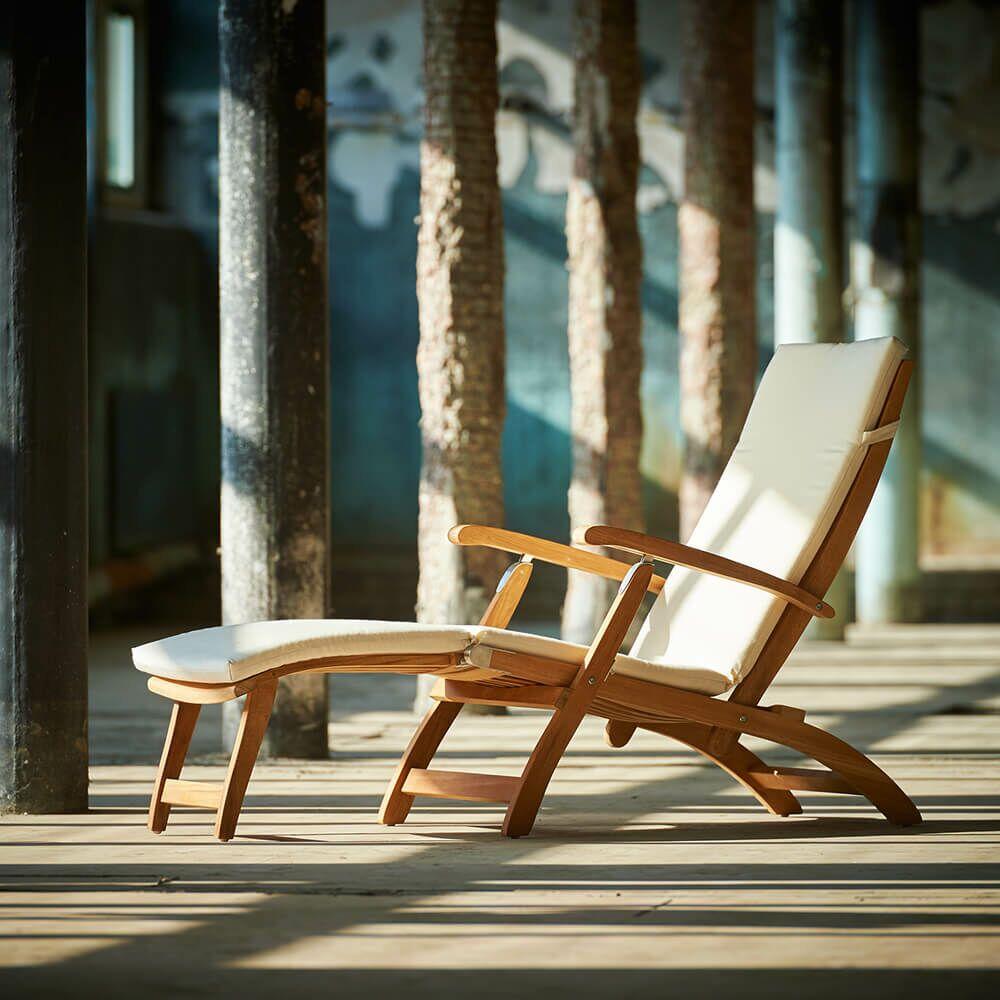 Garten Liegestuhl aus Teakholz Gartentraum de ~ 10133749_Teakholz Liegestuhl Gebraucht