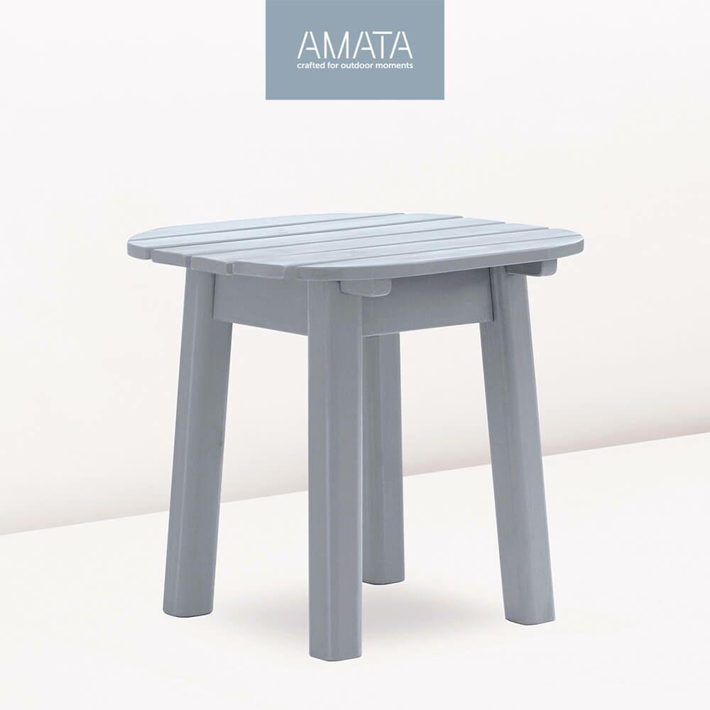 runder beistelltisch f r drau en amata. Black Bedroom Furniture Sets. Home Design Ideas