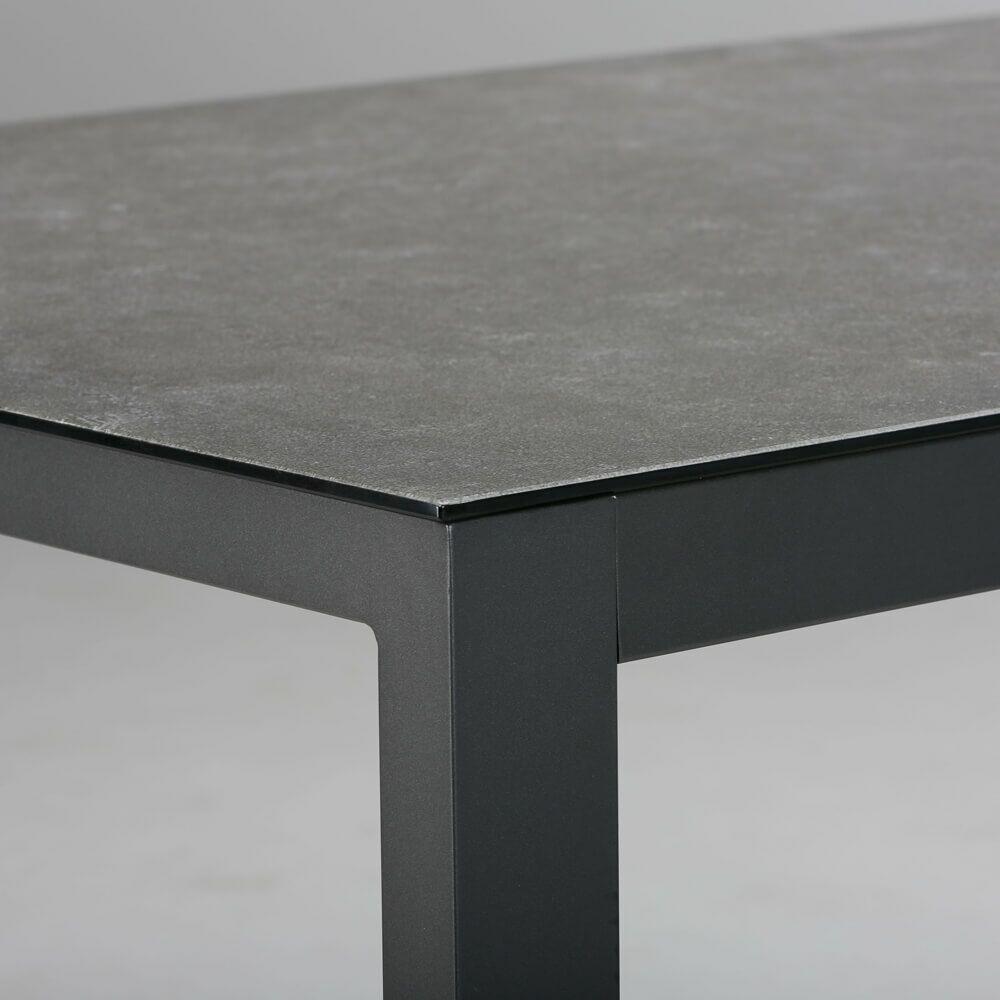 Aluminium Tisch Vidru Mit Keramik Platte