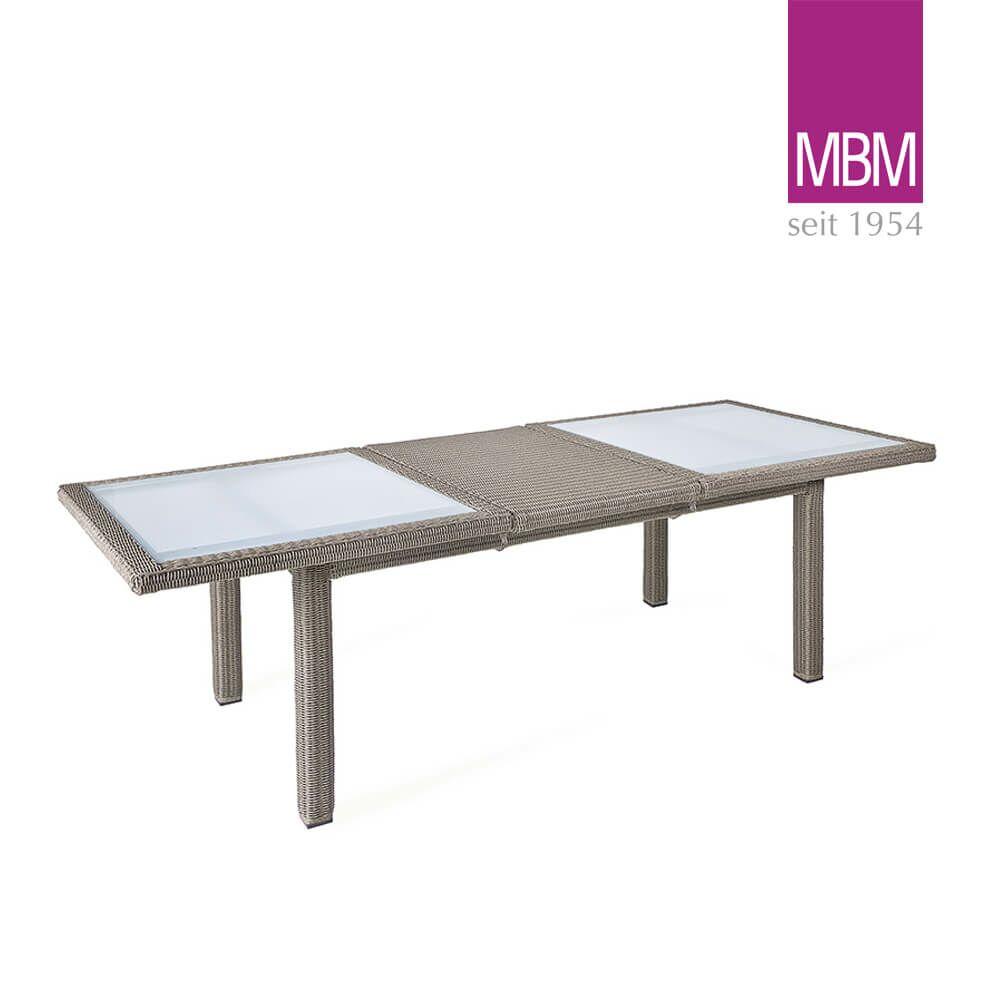 Ausziehbarer Gartentisch Von Mbm