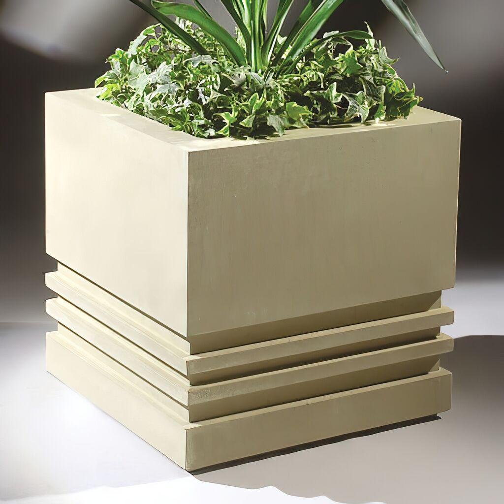 Moderne Blumentöpfe moderner blumentopf eckig severus gartentraum de