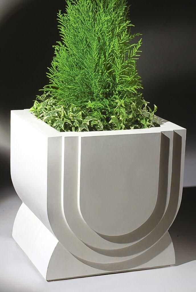 stein blumenk bel modern eckig rogelius. Black Bedroom Furniture Sets. Home Design Ideas