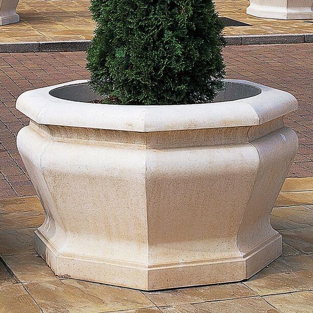 Grosser garten pflanzkubel stein athena o gartentraumde for Whirlpool garten mit pflanzkübel xxl keramik