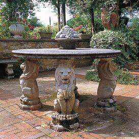 Gartenbrunnen aus Steinguss - Alderley Park