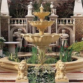 Gartenbrunnen aus Steinguss - Royal Berkshire