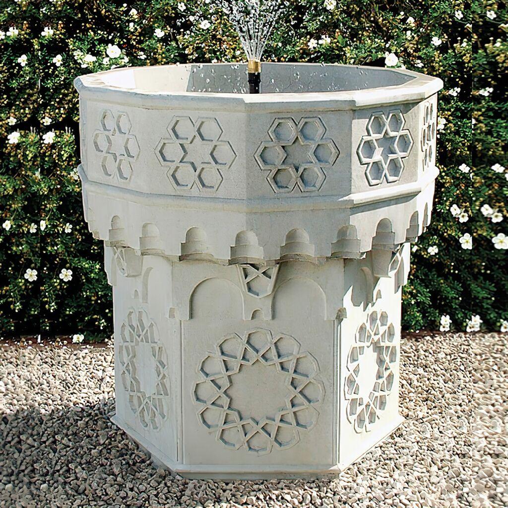Stein Gartenbrunnen Mit Pumpe   Andalucia ...