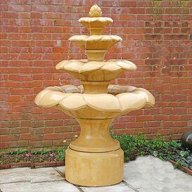 Gartenbrunnen aus Steinguss - Gayhurst House