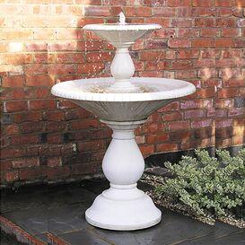 Gartenbrunnen aus Steinguss - Arcados