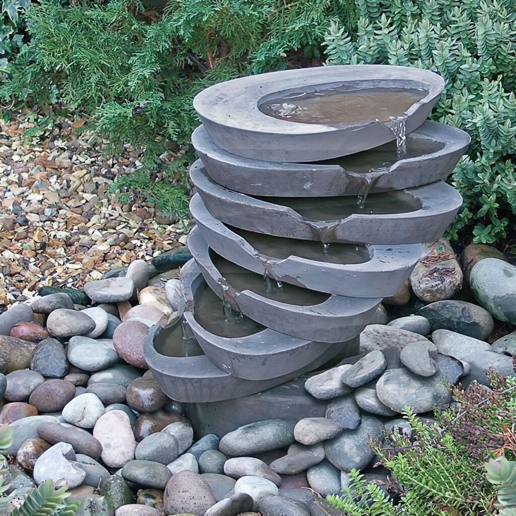 Garten Kaskaden Wasserspiel - Goldney • Gartentraum.de