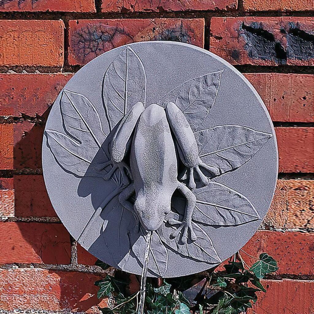 Stein Wandbrunnen Modern Anura Gartentraum De