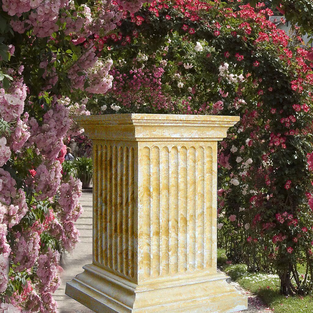 Historisches Garten Steinpodest Vi te