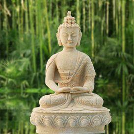 Motive Buddhafigur Gartenfigur Dekofigur versch Deko Figur Buddha
