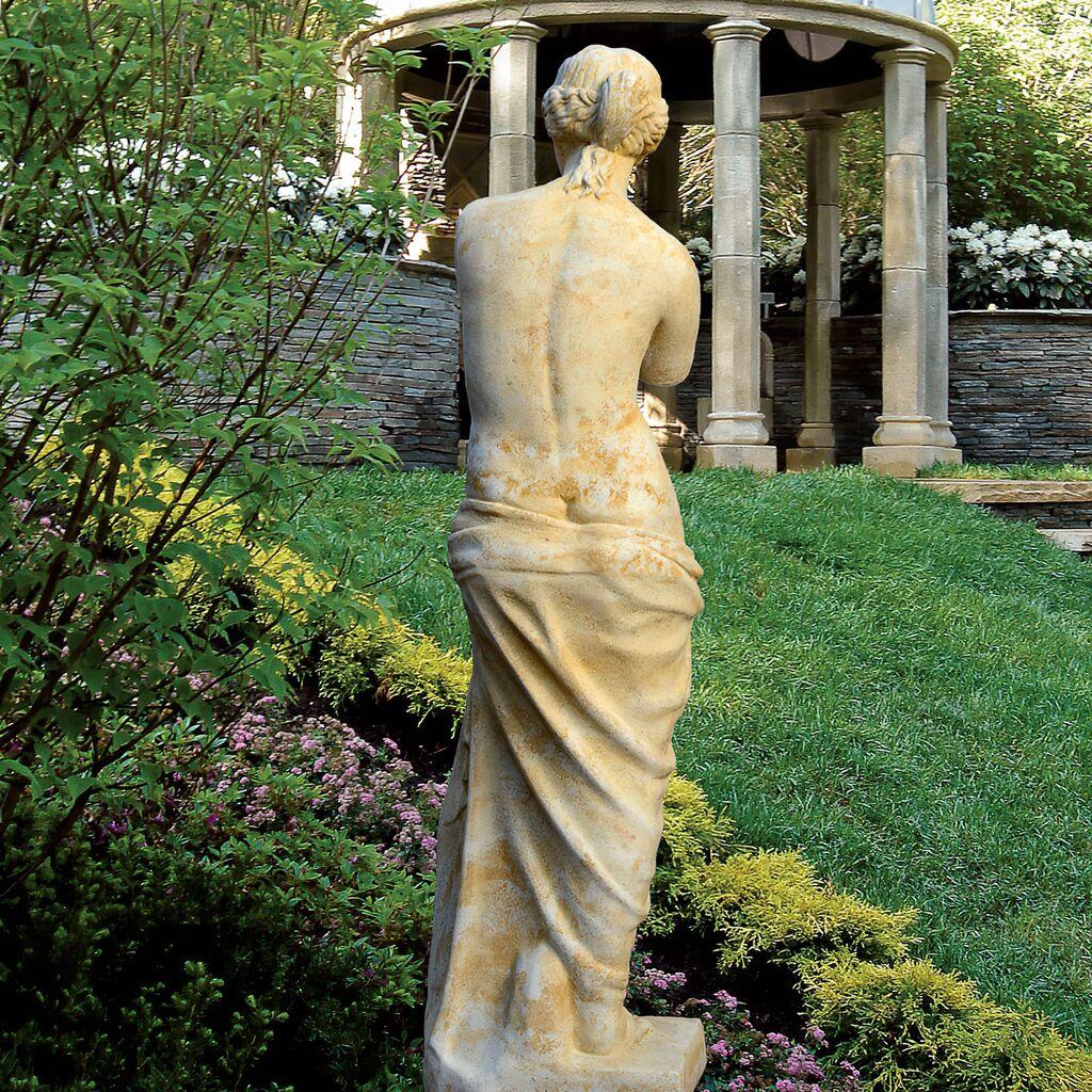 Griechische Garten Stein Skulptur  Venus • Gartentraumde -> Ecksofa Venus