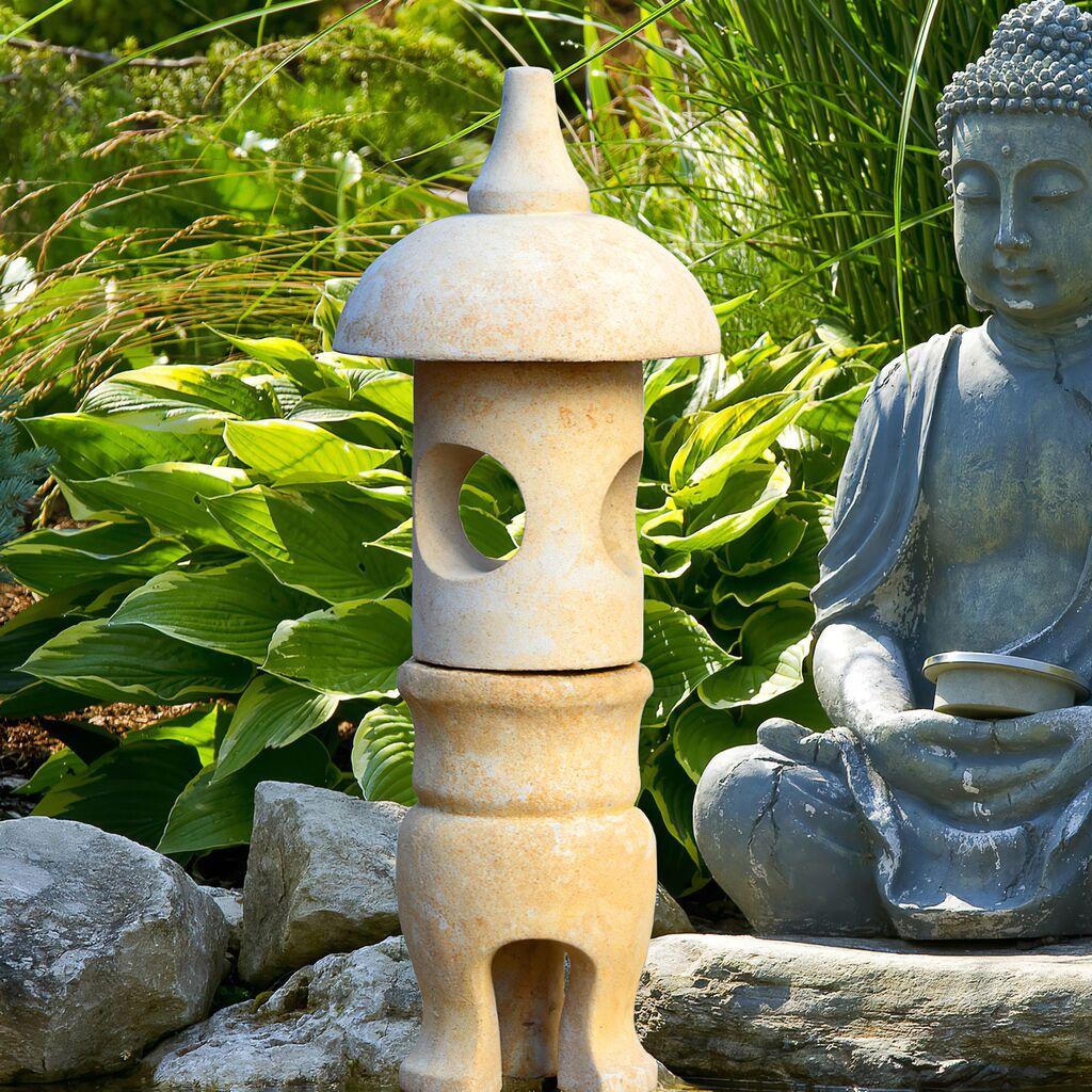 Japanische stein laterne makoto for Japanische gartendekoration