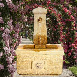 Gartenbrunnen aus Steinguss - La Village
