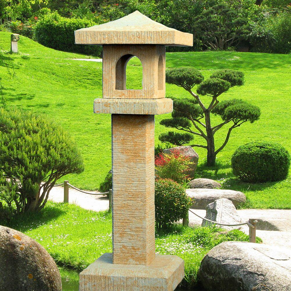 garten steinlaterne japanisch yamada portland wei. Black Bedroom Furniture Sets. Home Design Ideas