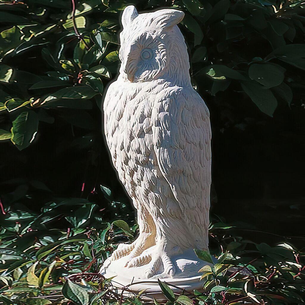 Metallskulptur Gartenfigur Vogel Gartendeko Skulptur Figur Statue handarbeit 031