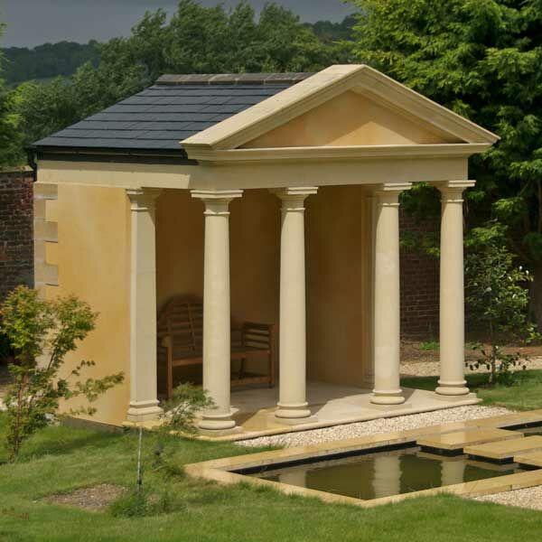 Gartenpavillon aus Stein - Vittelus / Terrakotta