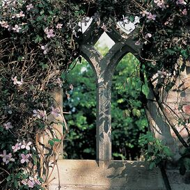 Gartenruine aus Steinguss - Barrow