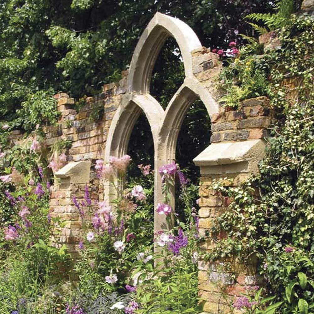 Gotisches stein ruinen fenster oakmere - Fenster zumauern welcher stein ...