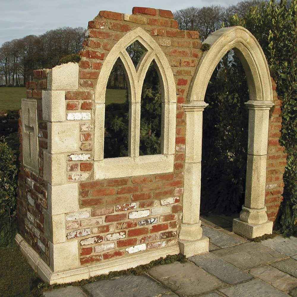 Garten Ruinenfenster Bausatz Sutton Hall