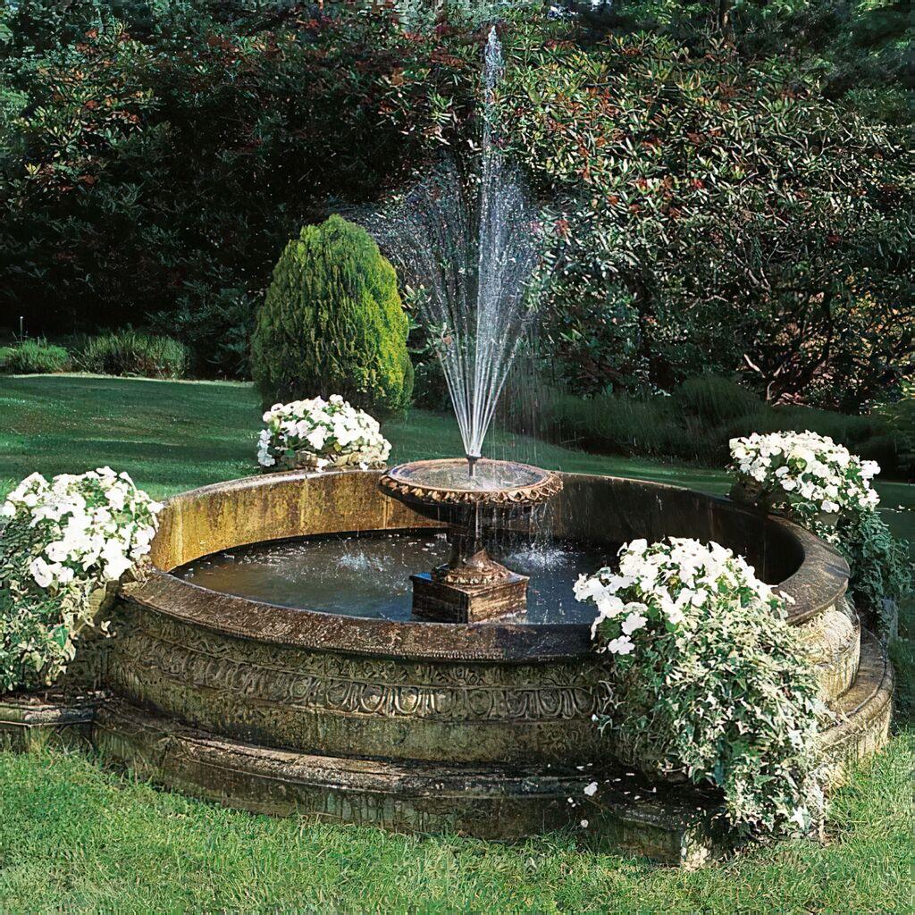 Garten springbrunnen sandstein gro - Garten springbrunnen ...