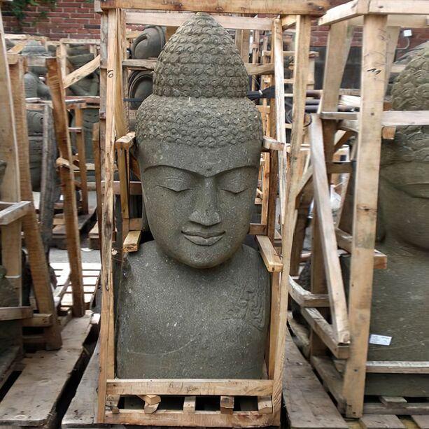 Naturstein buddha b ste shila - Garten buddha frostsicher ...