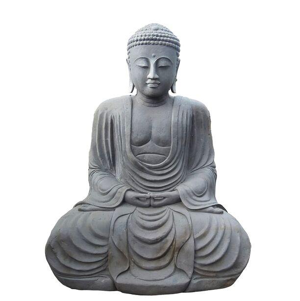 japan buddha sitzend unikat aus naturstein handarbeit katashi. Black Bedroom Furniture Sets. Home Design Ideas