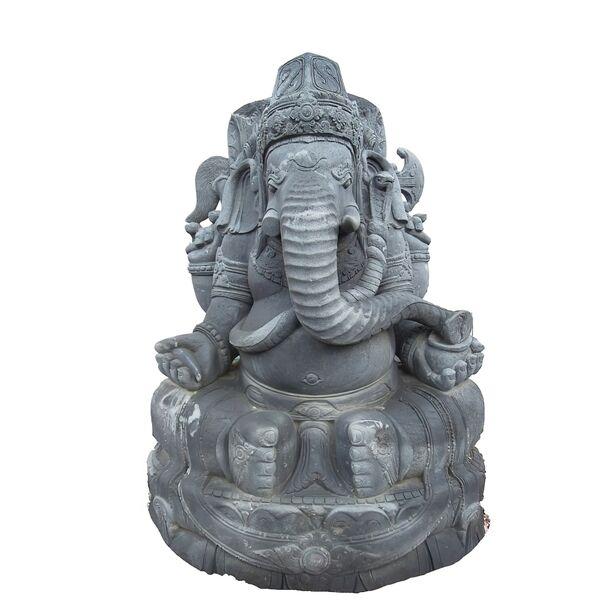 ganesha buddha elefant skulptur aus stein. Black Bedroom Furniture Sets. Home Design Ideas