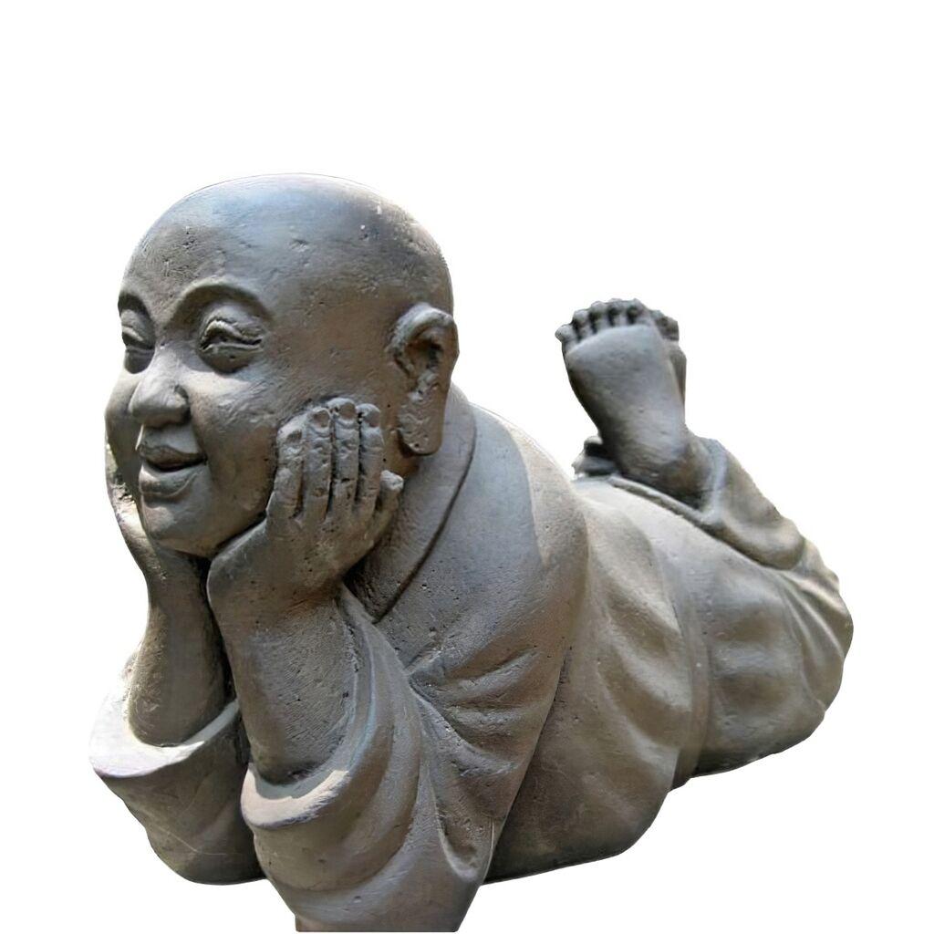 Edle Steinfigur Mit Deko Buddha Jampel