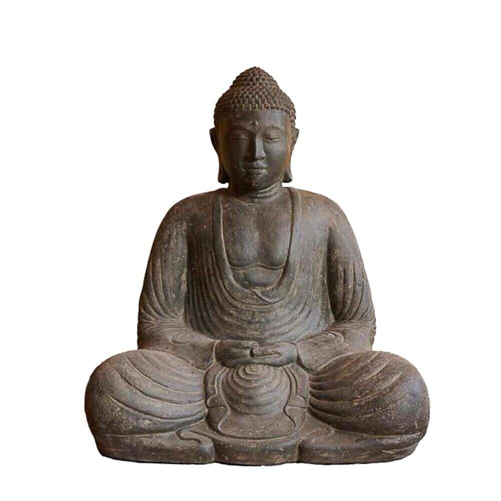 japanischer buddha f r den garten adarsch. Black Bedroom Furniture Sets. Home Design Ideas