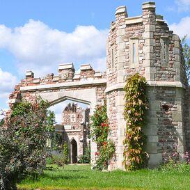 Gartenruine aus Steinguss - Granston Gateway Tower