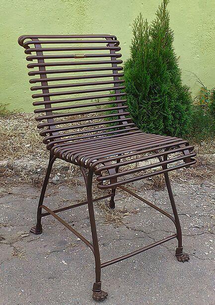 Gartenstuhl metall  Gartenstuhl »Claude« aus Metall • Gartentraum.de
