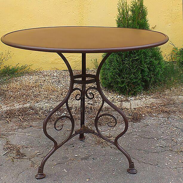 Gartentisch rund metall  Bistro Garten Tisch »Noelie« rund • Gartentraum.de