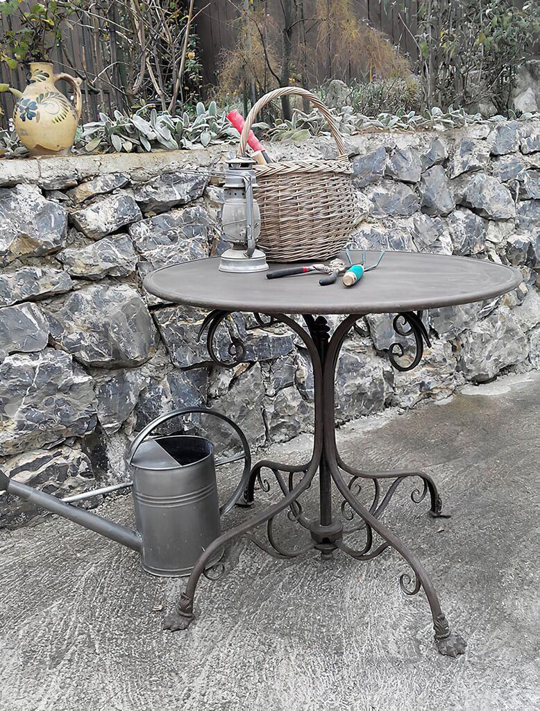 Romantischer Gartentisch Theo Gartentraum De