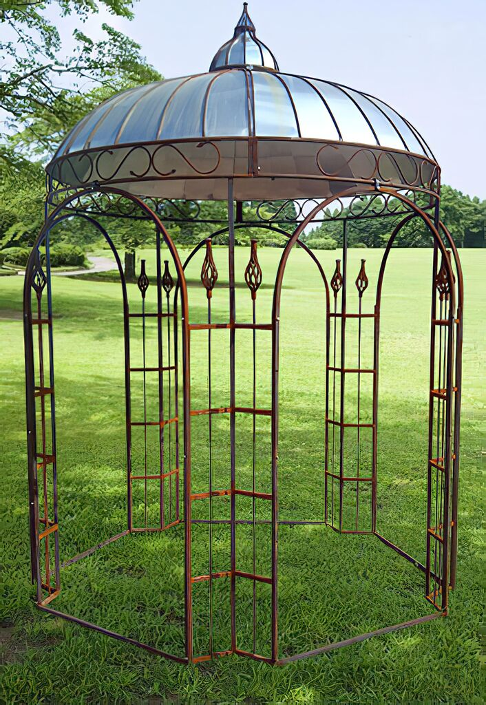 Antik pavillon sidonie f r den garten - Pavillon fur garten ...