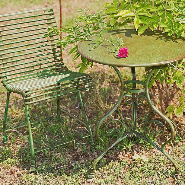 Antik Gartenmöbel Sitzgruppe Aus Schmiedeeisen   Thierry ...
