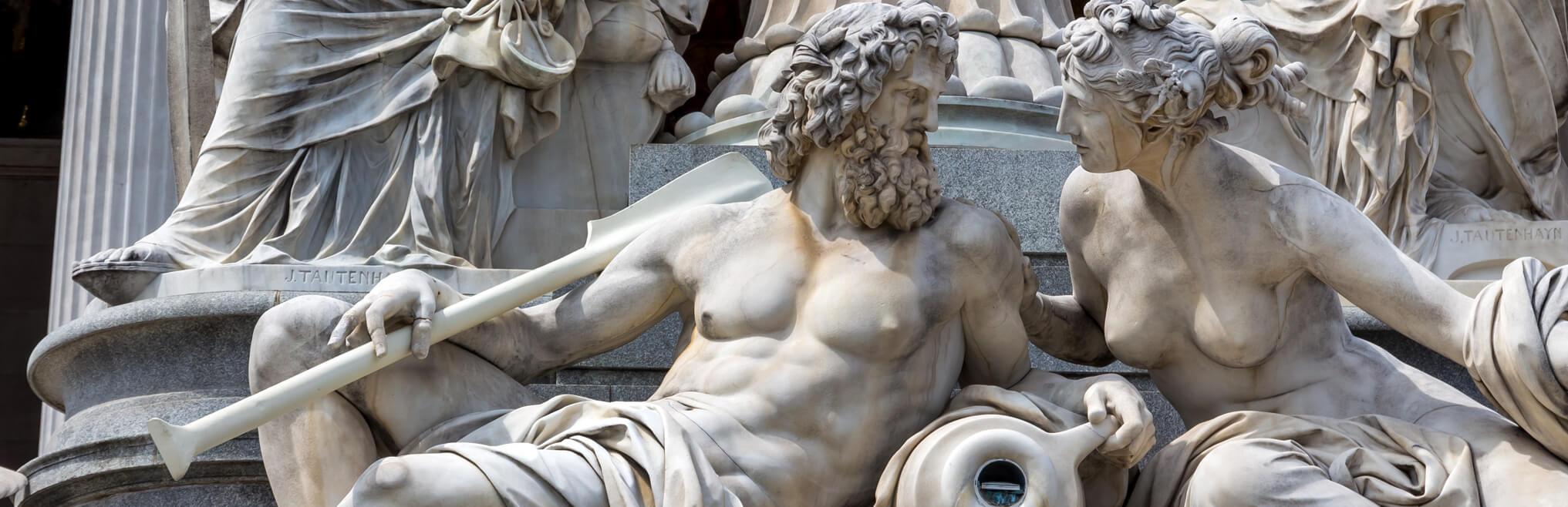 Skulpturen & Statuen|br|für den Garten, Wir bieten Replikate von |br|kunstvollen original Skulpuren |br|der Europäischen Klassik |br|von Michelangelo bis Rodin.|btn| Zu den Skulpturen